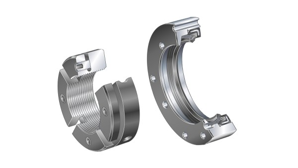 Schaeffler rolling bearings and plain bearings: Seal carrier assemblies/precision locknuts