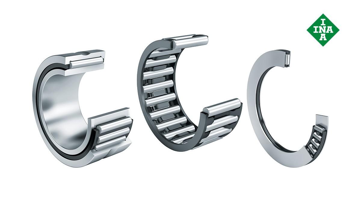 Schaeffler rolling bearings and plain bearings: Needle roller bearings